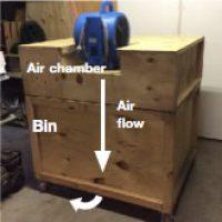 Pre drying bin